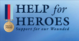 Help for Heroes Donation page